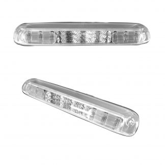 GMC Sierra & Chevy Silverado 1500 14-18 & 2500/3500 14-19 3rd Brake Light Kit LED Clear