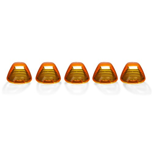 Ford Super Duty 99-16 5 Piece Cab Lights Xenon Bulbs Amber Lens in Amber