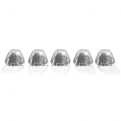 Ford Super Duty 99-16 5 Piece Cab Lights Xenon Bulbs Clear Lens in Amber