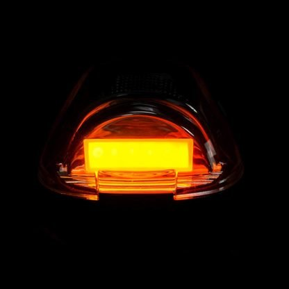 Image of Ford Super Duty 99-16 5 Piece Cab Lights OLED Amber Lens in Amber