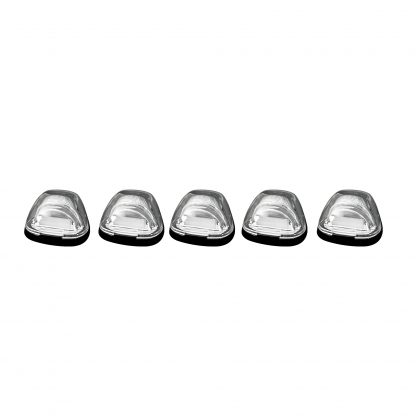 Ford Super Duty 99-16 5 Piece Cab Light Set OLED Clear Lens in Amber