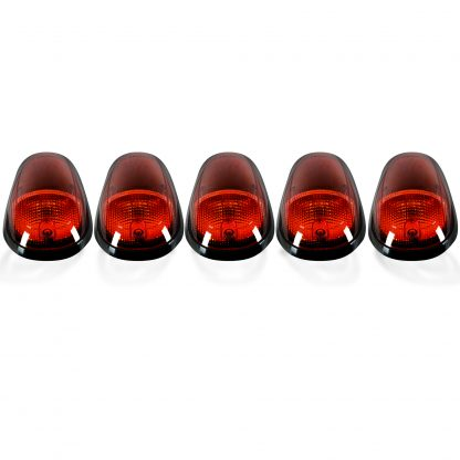 Dodge Heavy-Duty 2500/3500 03-19 5 Piece Cab Roof Lights LED Amber Lens in Amber