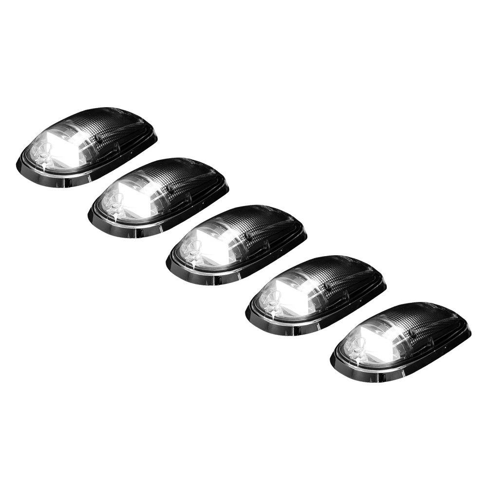 Dodge Heavy-Duty 2500/3500 03-19 5 Piece Cab Roof Light Set OLED Clear Lens in White
