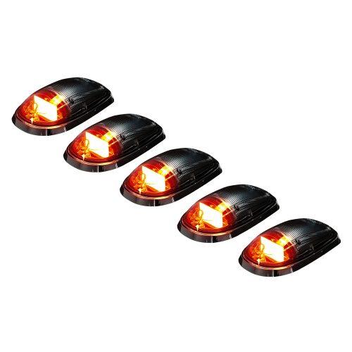 Dodge Heavy-Duty 2500/3500 03-19 5 Piece Set OLED Clear Lens in Amber