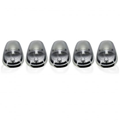 Dodge Heavy-Duty 2500/3500 03-19 5 Piece Cab Roof Lights Set LED Clear Lens in white