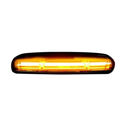 GMC & Chevy 02-07 Heavy Duty 3 Piece Cab Roof Light OLED Amber Lens in Amber