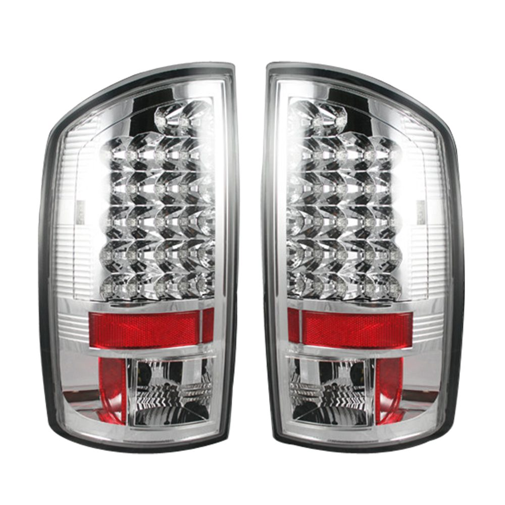 Dodge 02-06 RAM 1500 & 03-06 RAM 2500/3500 LED Tail Lights - Clear Lens