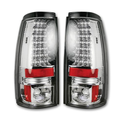 Chevy Silverado & GMC Sierra 99-07 tail Lights LED in Clear
