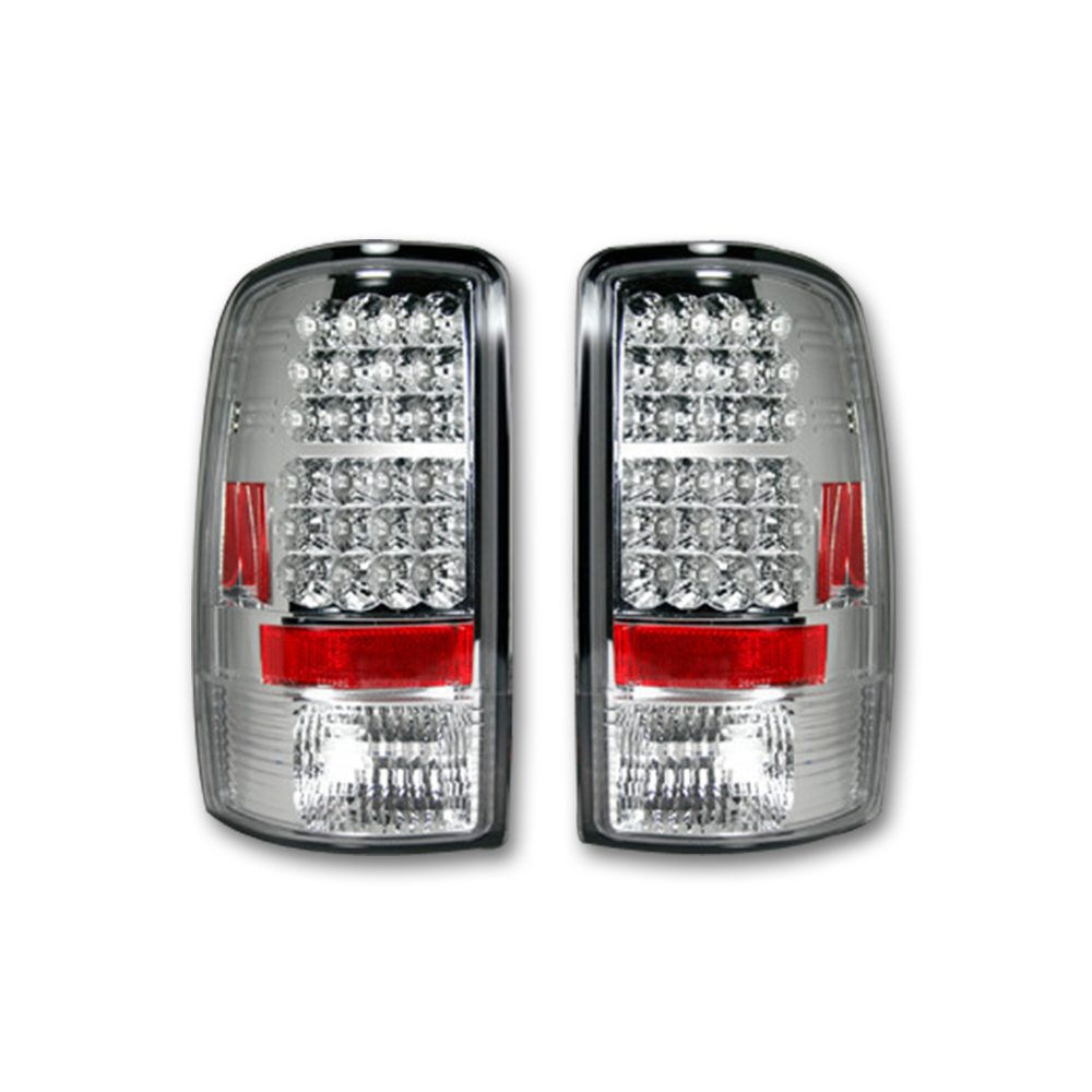 Chevy Tahoe/Suburban & GMC Yukon/Denali 00-06 Tail Lights LED Clear