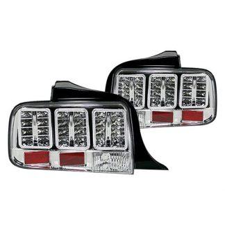 Ford Mustang 05-09 LED TAIL LIGHTS - Clear Lens