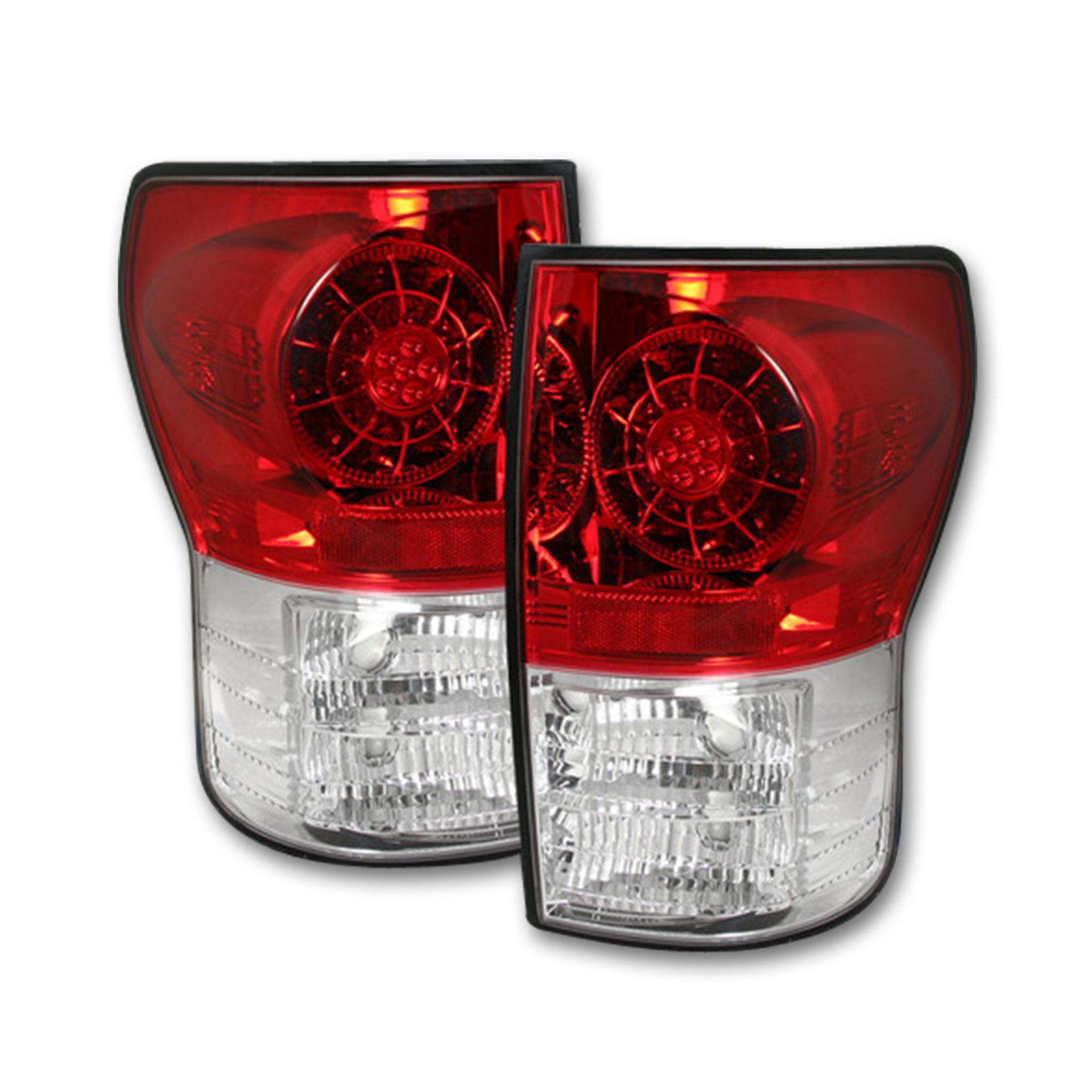 RECON 264188RD Toyota Tundra 07-13 LED Taillights - Red Lens