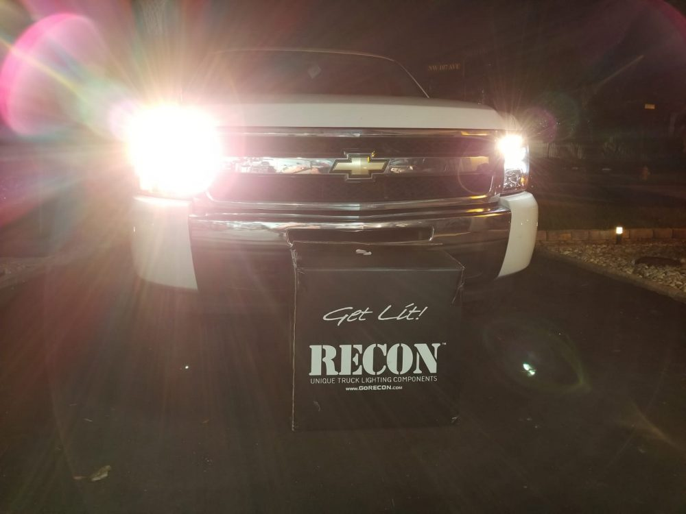 Chevy Silverado 07-13 Projector Headlights OLED Halos DRL Smoked/Black