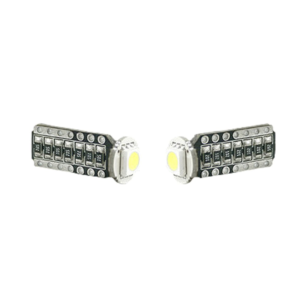 194/168 T10 Error-Free Resisted & Dioded Unidirectional 1-Watt SMD LED Bulbs White