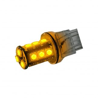 3057/3157/3357/3457/4057/4157 360 Degree Ultra High Power 3-Watt S.M.D. 18 LED Bulb Amber