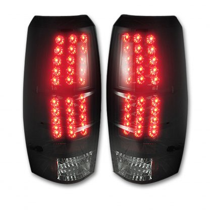 Chevy Avalanche 07-13 LED TAIL LIGHTS - Smoked Lens
