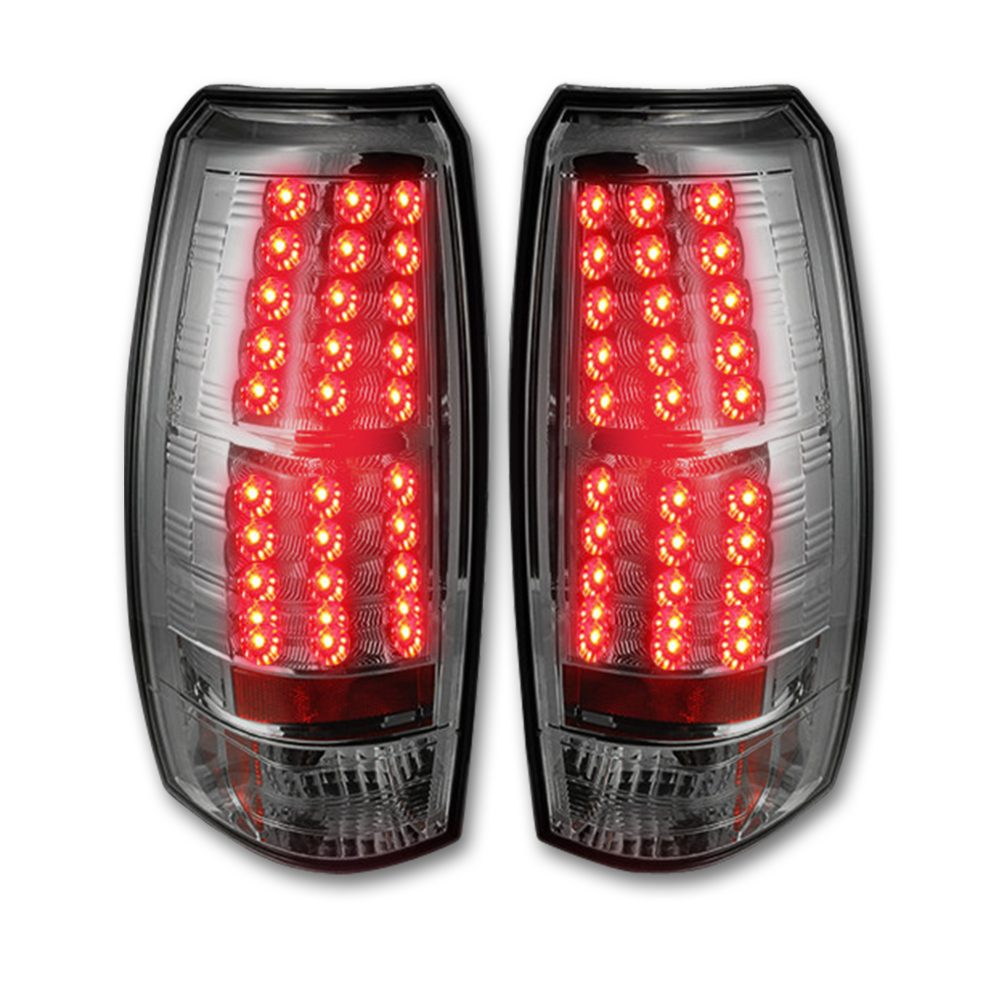Chevy Avalanche 07-13 LED TAIL LIGHTS - Clear Lens