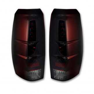 Chevy Avalanche 07-13 LED TAIL LIGHTS - Red Smoked Lens