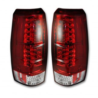 Chevy Avalanche 07-13 LED TAIL LIGHTS - Red Lens