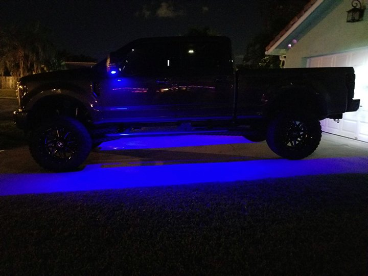 Ford F150 15-17 & Raptor 17-19 Super Duty LED Mirror / Puddle Light Kit in White