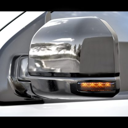 Ford 15-17 F150 & 17-18 RAPTOR Side Mirror Lenses Smoked