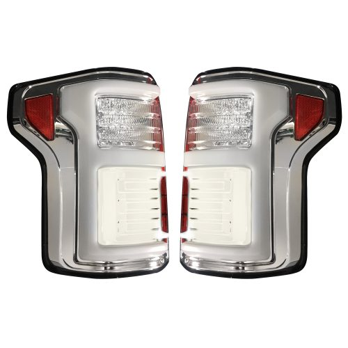 Ford F150 15-17 & Raptor 17-19 (Replaces OEM LED) Tail Lights OLED Clear