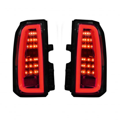 Chevy Tahoe & Suburban 15-19 OLED Bar-Style LED TAIL LIGHTS - Clear Lens