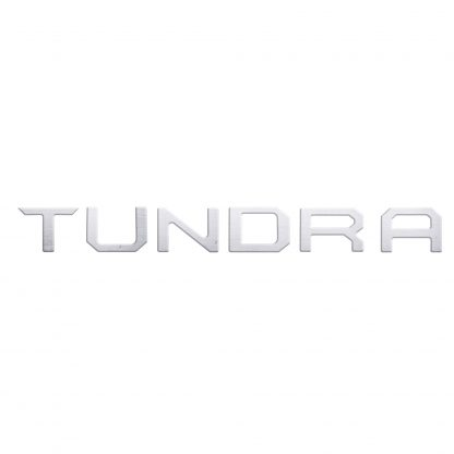 Toyota Tundra 14-19 Raised Logo Acrylic Emblem Insert 1-Piece for Tailgate Only - CARBON FIBER