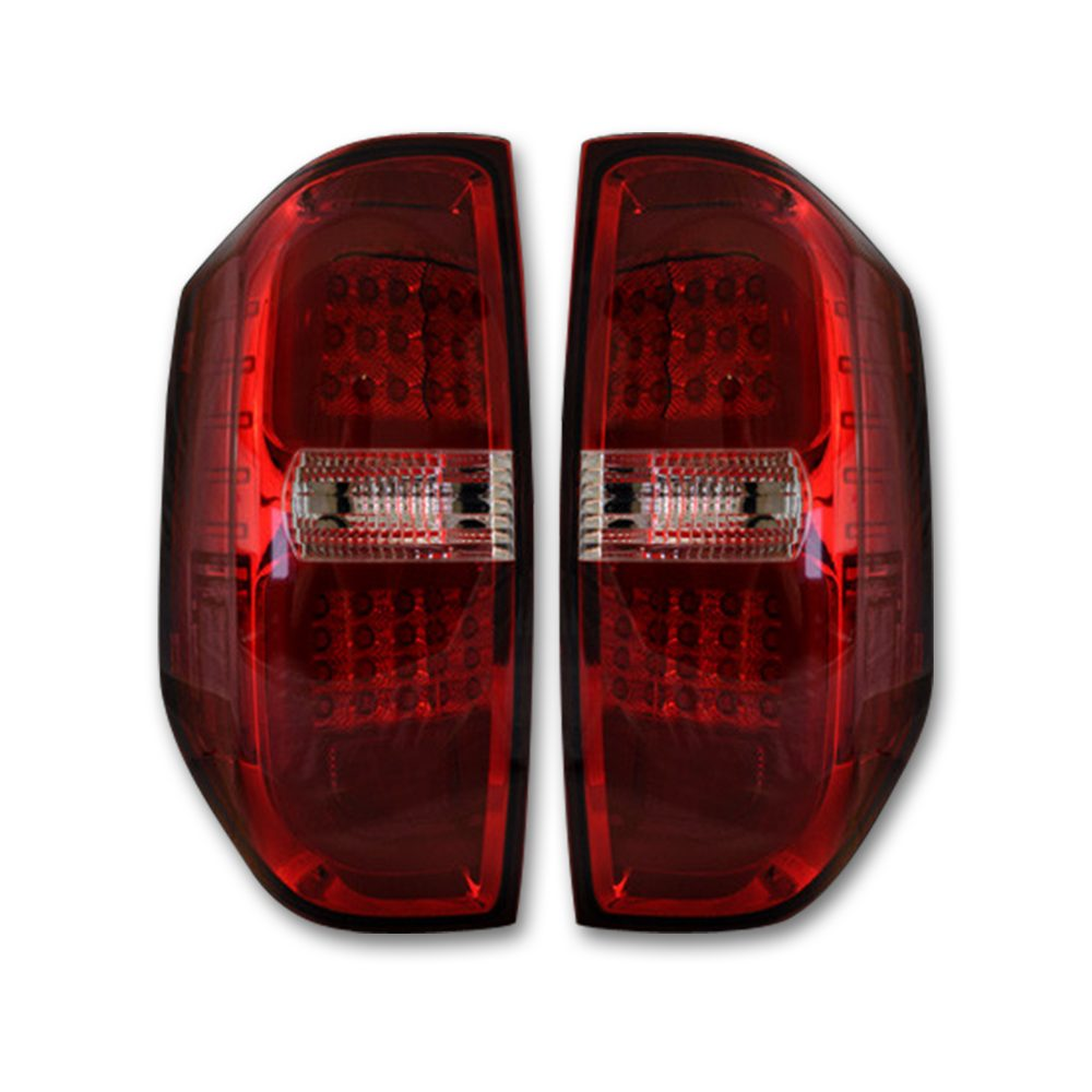 Toyota Tundra 14-19 LED Taillights - Red Lens