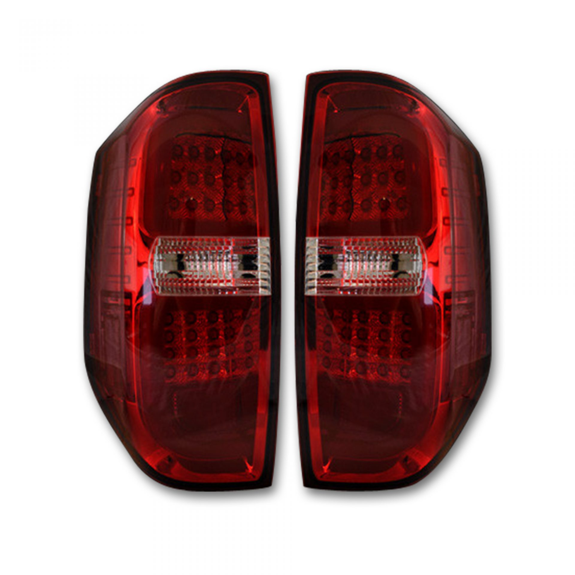 Recon 264288rd Toyota Tundra 14 19 Led Taillights Red