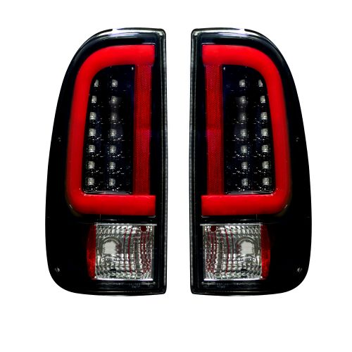 Ford F250HD/350/450/550 99-007 & F150 97-03 Super Duty Tail Lights OLED in Smoked