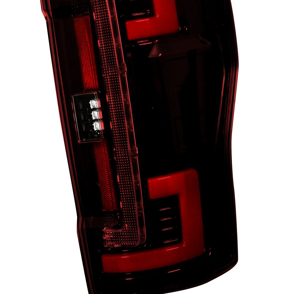 Ford Super Duty F250/350/450/550 17-19 (Replaces OEM Halogen) Tail Lights OLED in Red