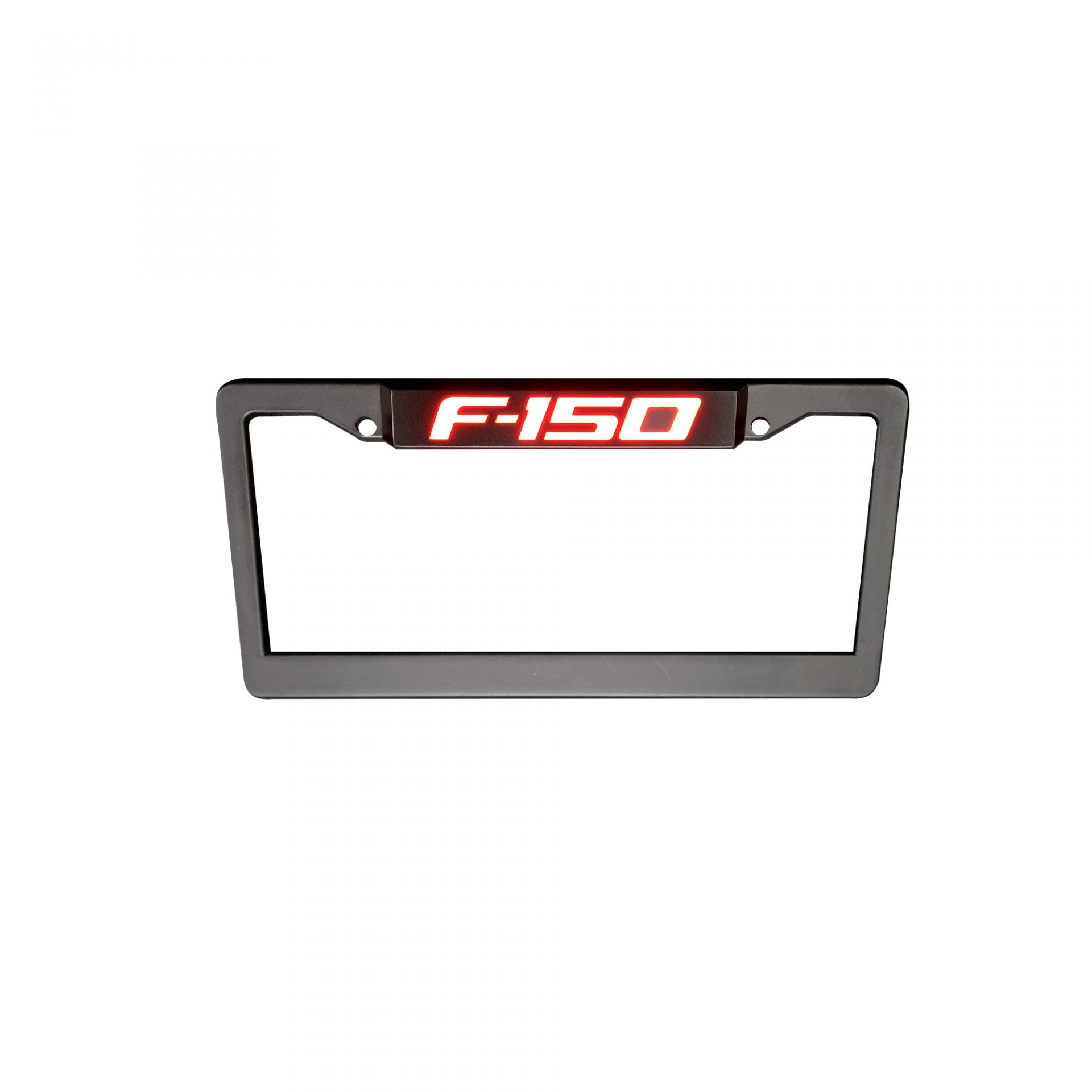 F150 Red Illuminated Plate Frame Truck & Car Parts 264311F150 ...