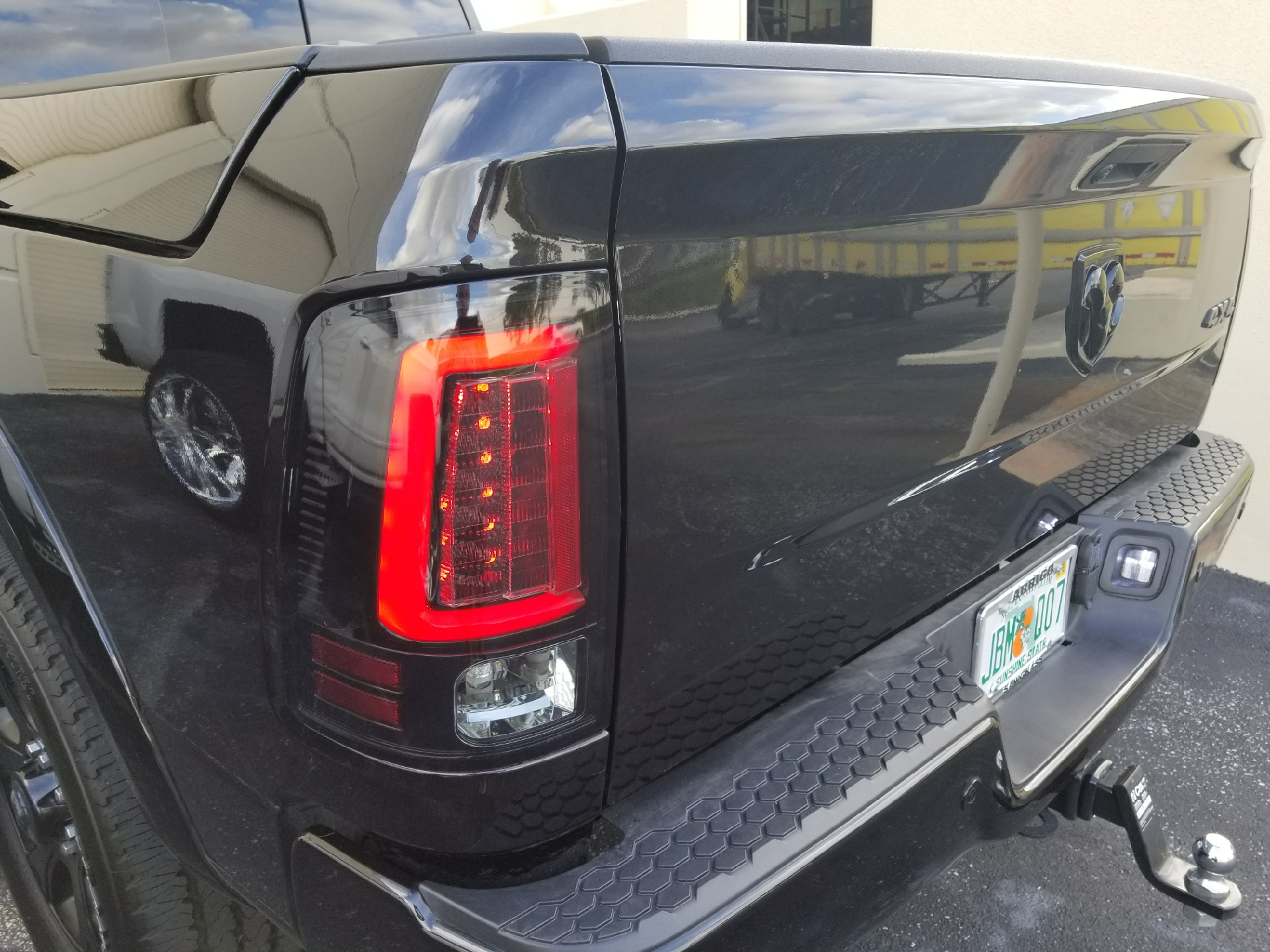 Dodge Ram OLED Taillights Truck & Car Parts BK