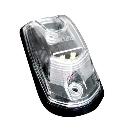 Ford Super Duty 17-19 1 Piece Single Cab Light Power LED Clear Lens in Amber