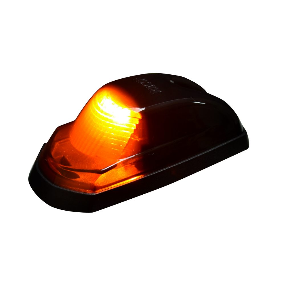 ord Super Duty 17-19 Single Cab Light High Power LED Smoked Lens in Amber