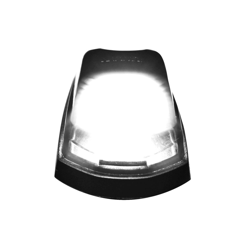 Ford Super Duty 17-19 Single Cab Light 1 Piece Smoked Lens in White