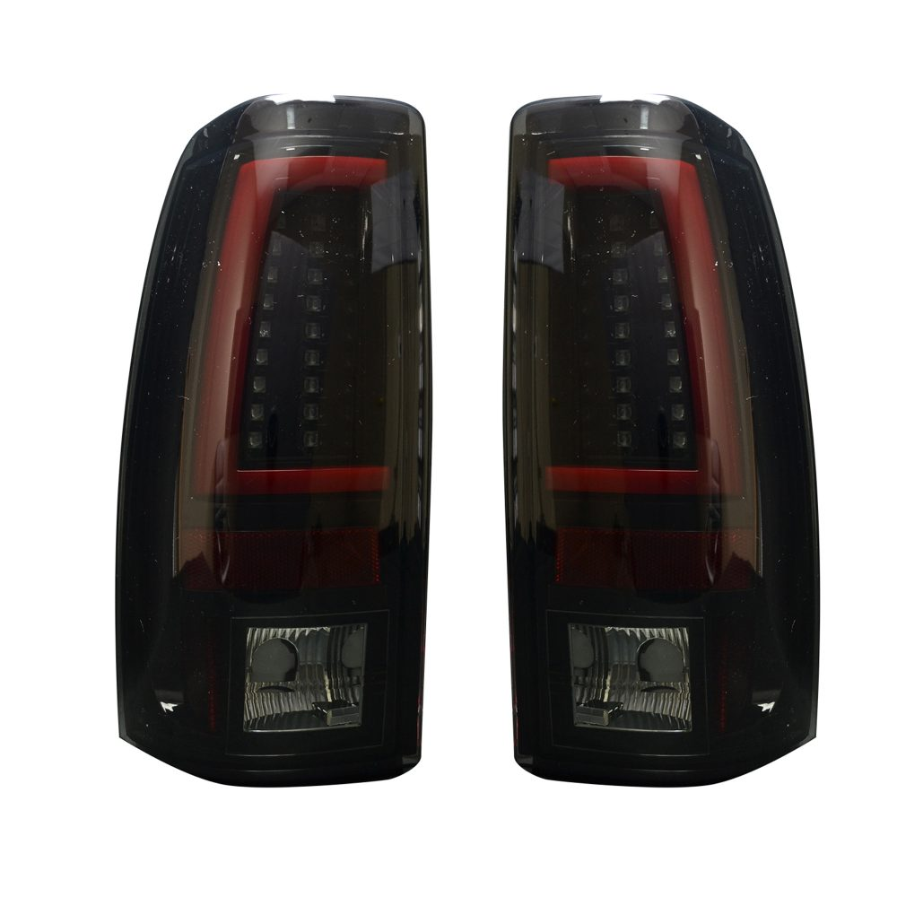 Chevy Silverado & GMC Sierra 99-07 Tail Lights OLED in Smoked
