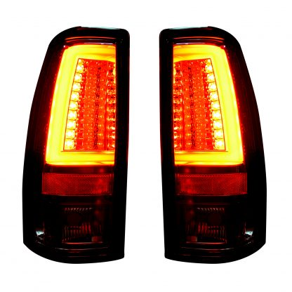 Chevy Silverado & GMC Sierra 99-07 Tail Lights OLED in Clear