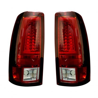 Chevy Silverado & GMC Sierra 99-07 Tail Lights OLED in Red