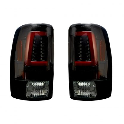 Chevy & GMC Tahoe, Yukon, Suburban, Denali 00-06 Tail Lights OLED in Smoked