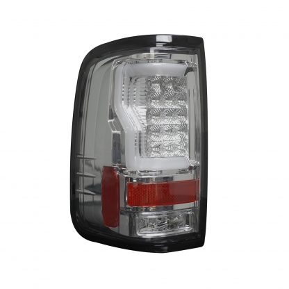 "Ford F150 04-08 Straight aka ""Style"" Side OLED TAIL LIGHTS - Clear Lens"
