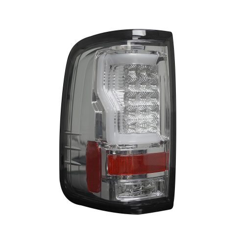 """Ford F150 04-08 Straight aka """"Style"""" Side OLED TAIL LIGHTS - Clear Lens"""
