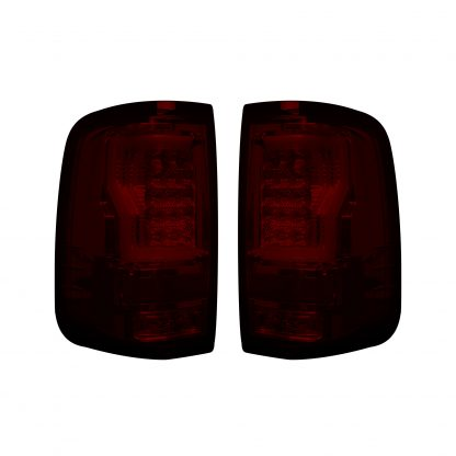 """Ford F150 04-08 Straight aka """"Style"""" Side OLED TAIL LIGHTS - Red Lens"""