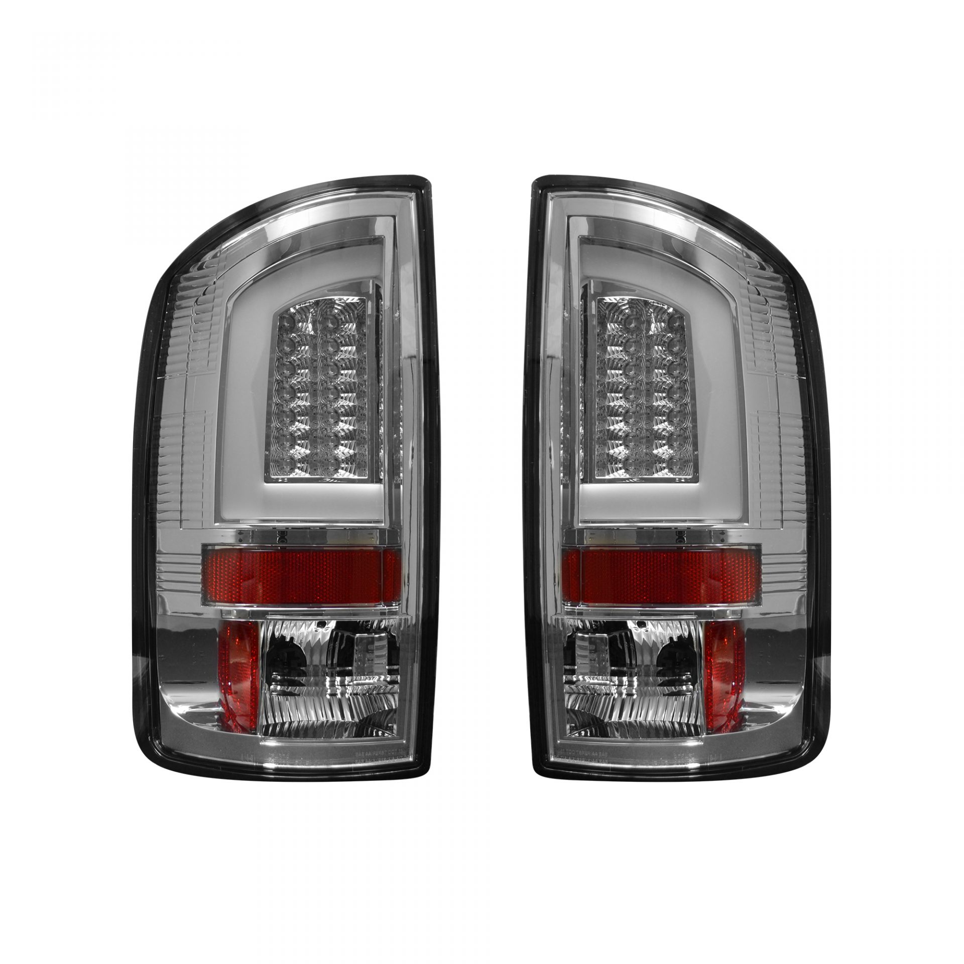 Recon 264377cl Chevy Gmc Tahoe Yukon Suburban Denali 00 06 Oled Tail Lights Clear Lens