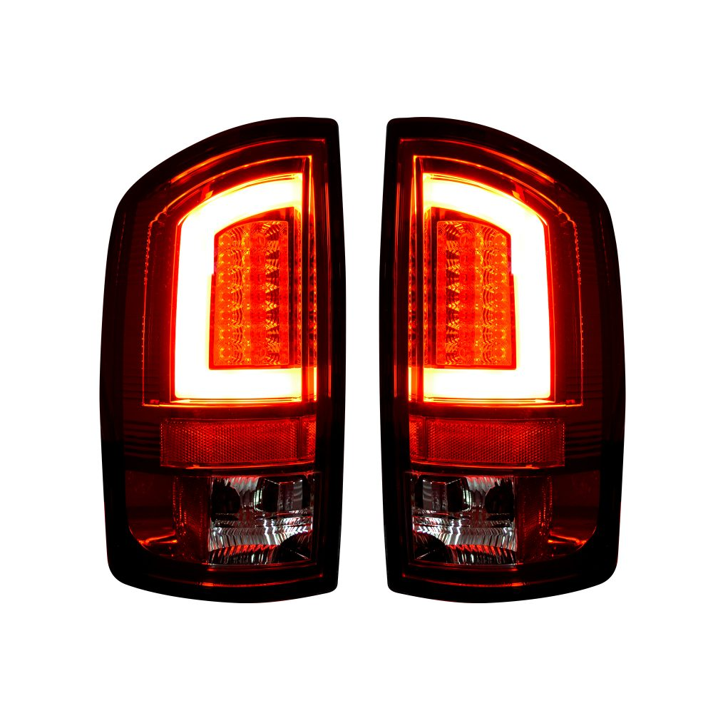 Dodge 07-08 RAM 1500 &; 07-09 RAM 2500/3500 OLED TAIL LIGHTS Red