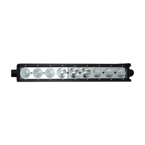 "6750 LUMEN 18"" LED LIGHT BAR & RECON WIRING KIT - 9 Individual 10-Watt (90-Watt Total) CREE XML LEDs"