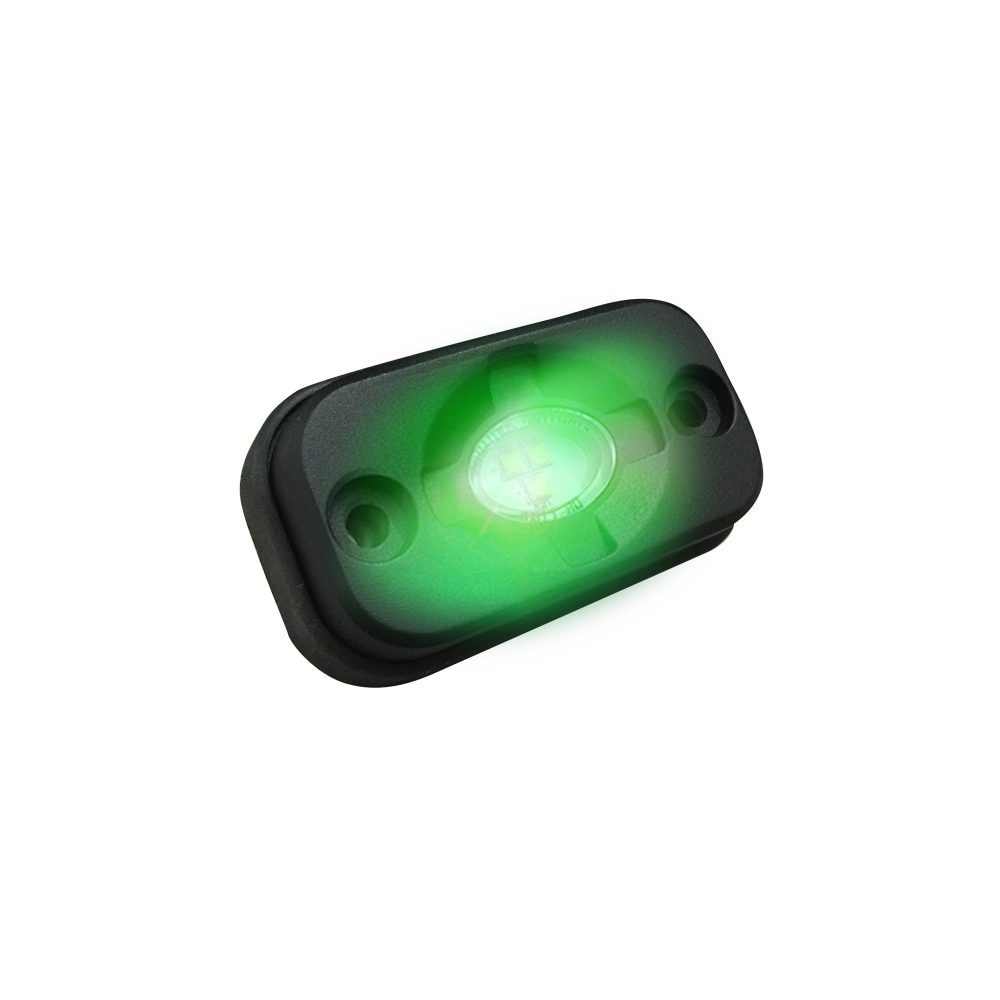 LED Under Body / Rock Lights CREED LEDs IP67 in Green