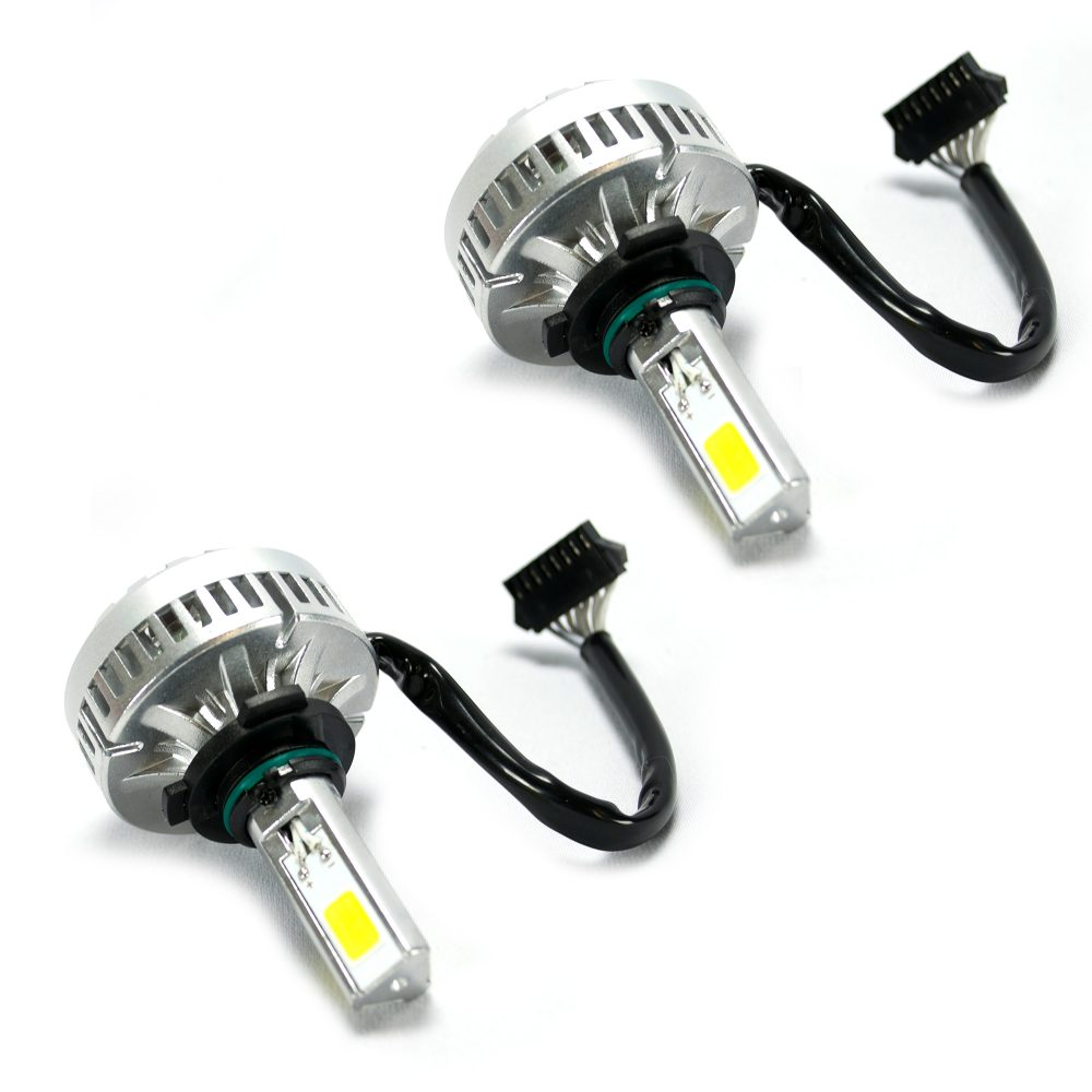 9004 12V High-Power (Hi & Low Beam) Headlight Bulbs LED