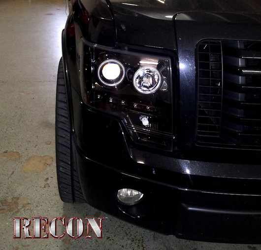 Ford Raptor Projector Headlights - Truck & Car Parts - 264190BKCC ...