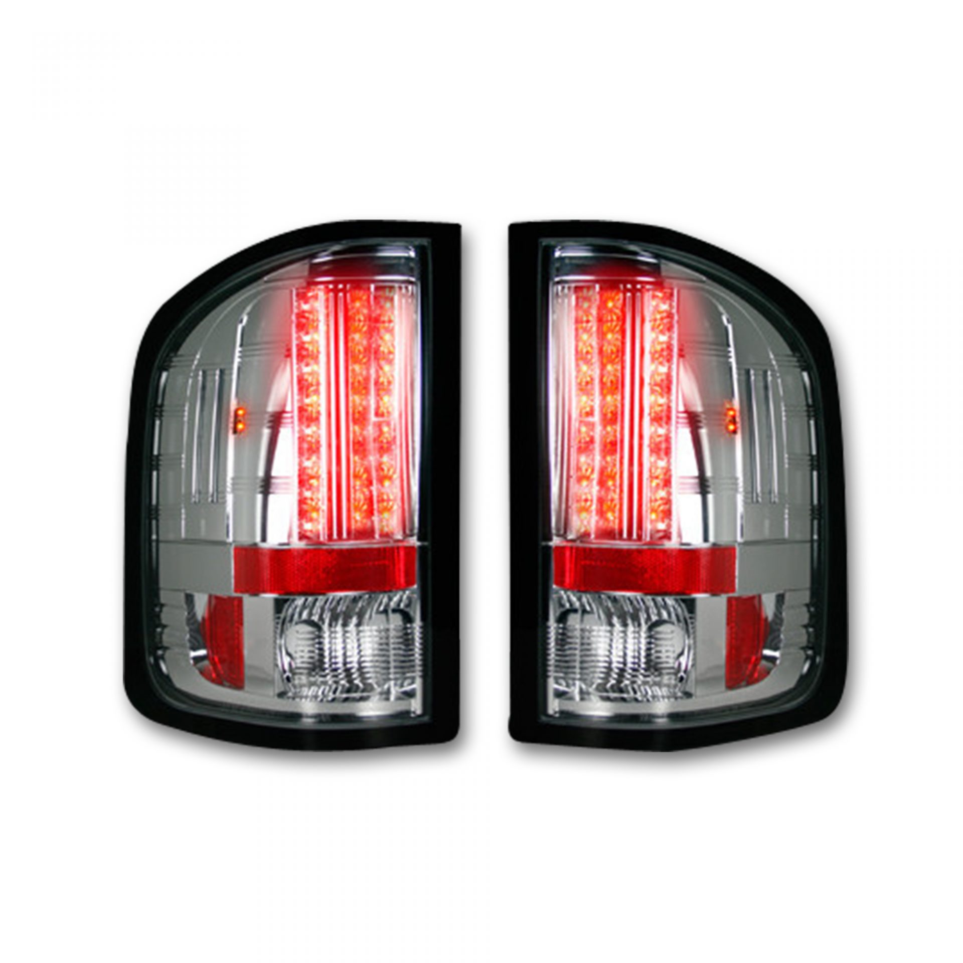 Part 264189cl Clear Led Tail Lights 07 13 Gmc Sierra